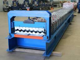 1125 машина за обликовање црепа за кров