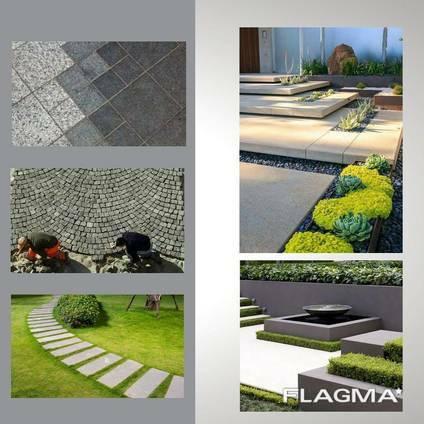 Granite stone tiles / pavers