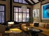 Построим красивый , оригинальный дом из дерева и камня - photo 1