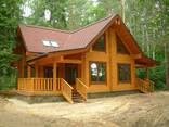 Построим красивый , оригинальный дом из дерева и камня - photo 2