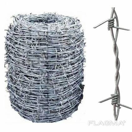 Проволока стальная колючая, гладкая, рифленая, сварочная